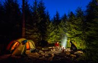 OD 0816 Sommerfreuden Zelten Camping Special Schwarzwald Zeltplatz