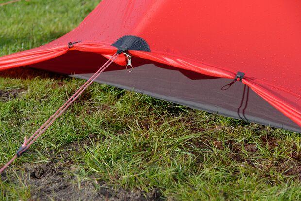 OD 0816 Zelt Test Pluspunkt Kondenswasser