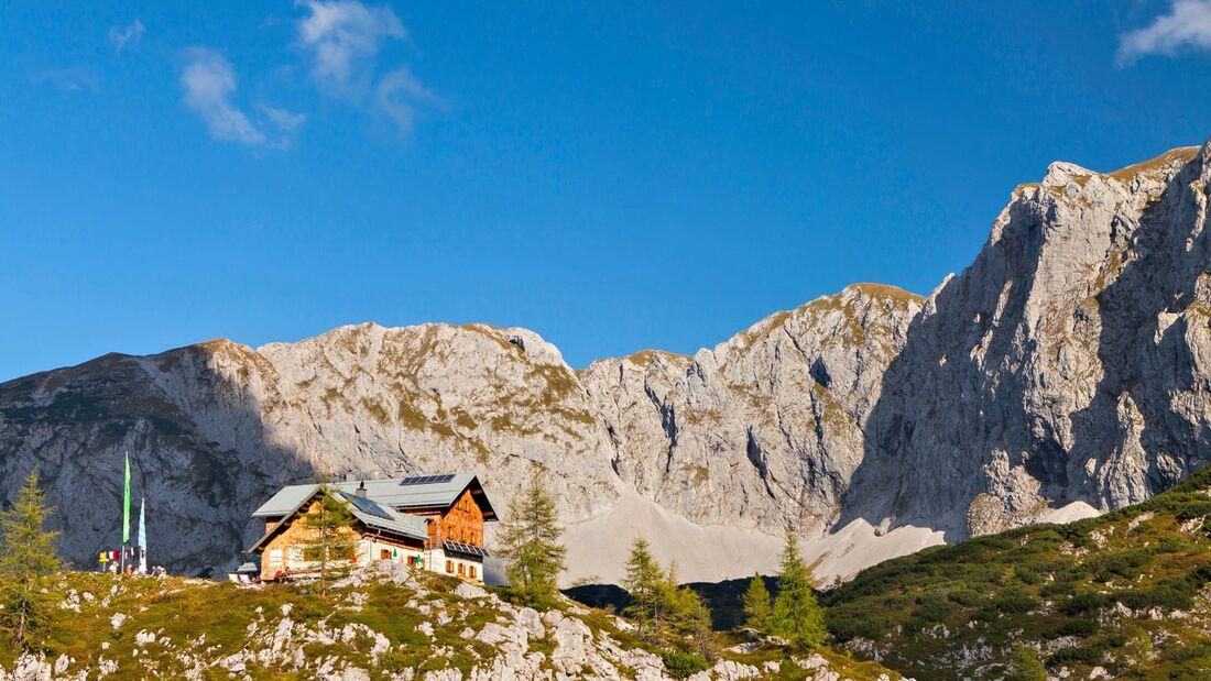 OD 0817 Laufener Hütte Tennengebirge Österreich