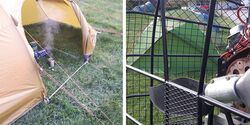 OD 0817 Zelttest Zelte Aufmacherbild Newsmeldung
