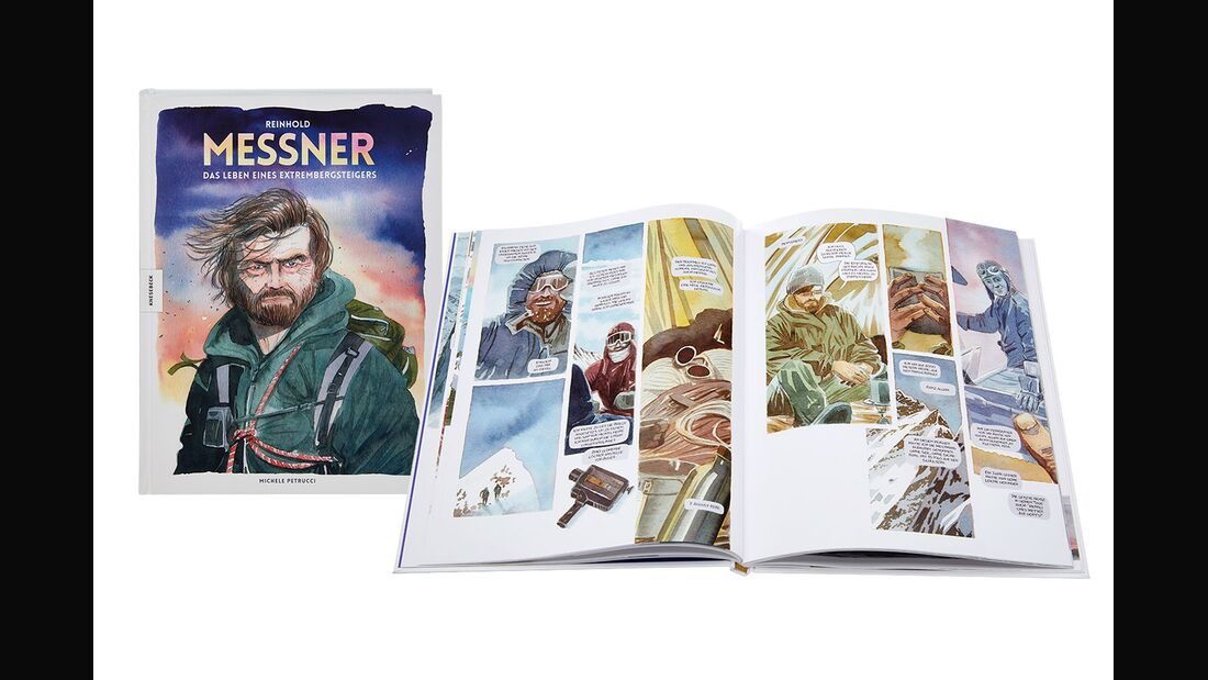 OD 0818 Buchtipp Reinhold Messner Graphic Novel