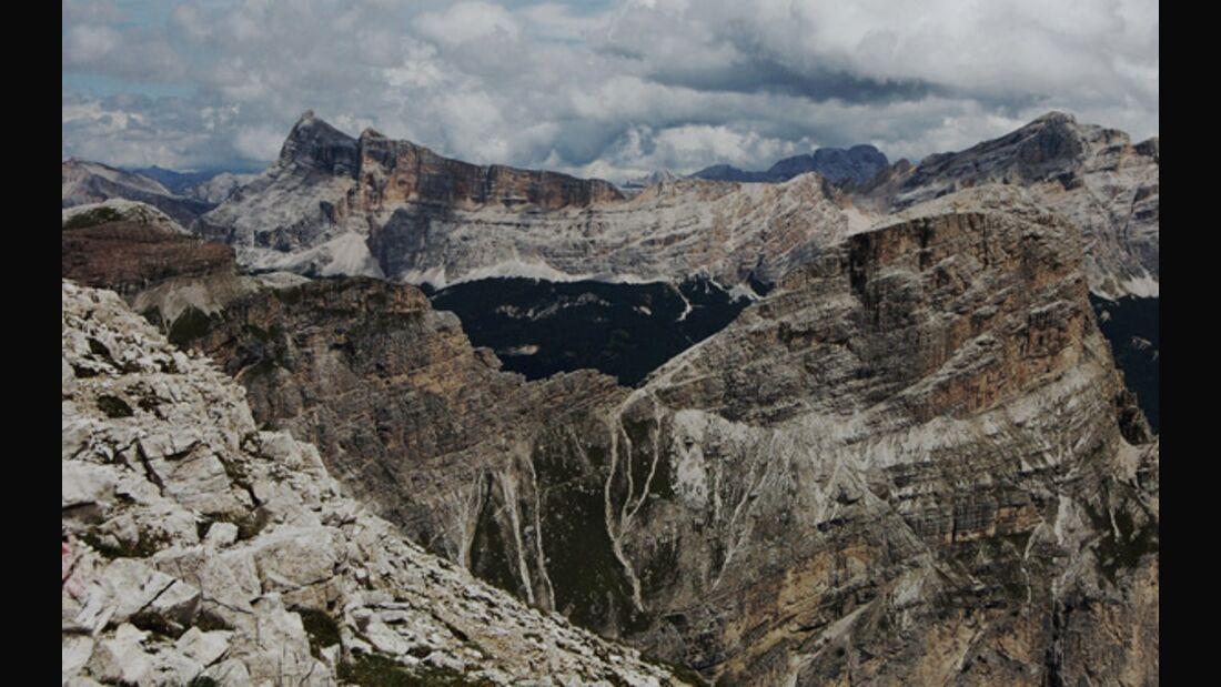 OD 0909 Dolomiten Fanes Gruppe pixelio