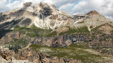 OD 0909 Dolomiten Puez naturpark Bergtouren pixelio