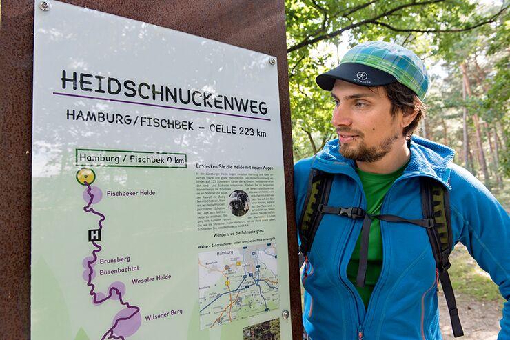 OD 0916 Lüneburger Heide Heidschnuckenweg