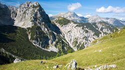 OD 0917 Karwendel Österreich Rohntal - Tortal