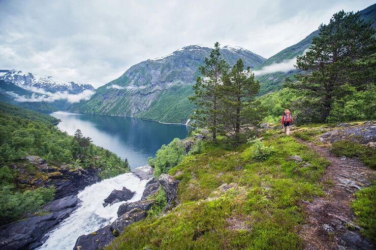 OD 0917 Norwegen Tafjordfjell Hüttentour Trekking