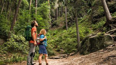 OD 0918 Reise Böhmische Schweiz Hrensko Tschechien Tour 4 Wilhelminenwand