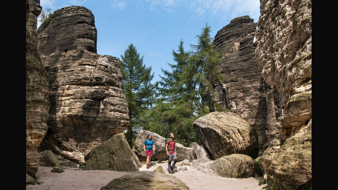 OD 0918 Reise Böhmische Schweiz Tour 2 Tyssaer Wände