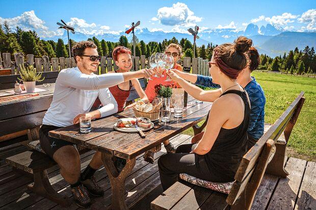 OD 1 Mountain Days Brixen Südtirol 2019 - Biwak Camp