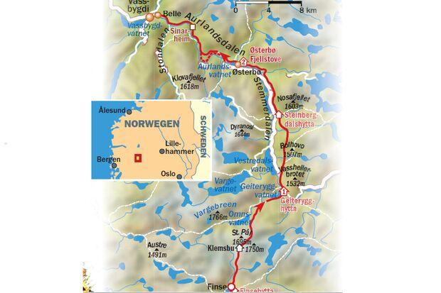 OD 1012 aurlandsdalen norwegen karte (jpg)