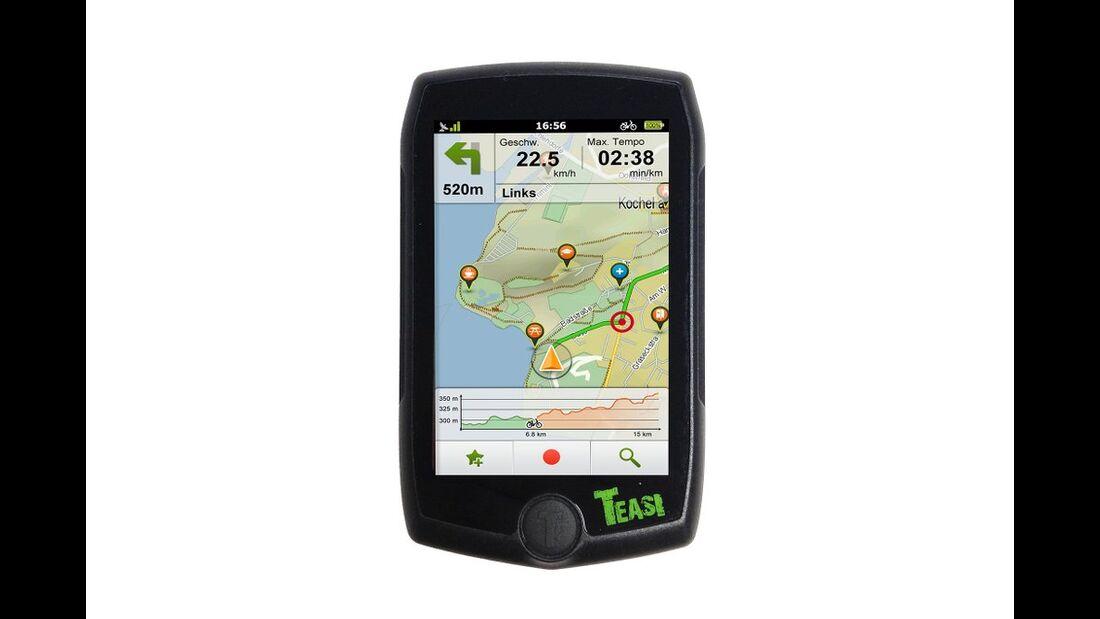 OD 1015 GPS-Geräte Test A-Rival Teasi Pro