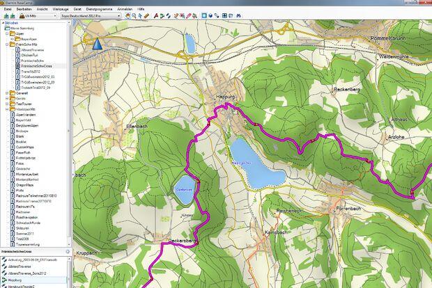 OD 11 2012 GPS Tourenplaner Garmin Topo Deutschland Pro