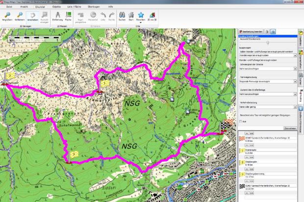 OD 11 2012 GPS Tourenplaner Magicmaps Tour Explorer D 25/50