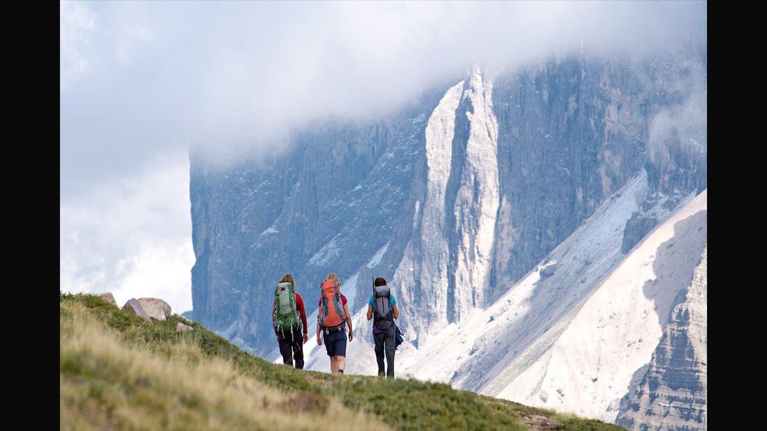 OD 1115 Woman Südtirol Dolomiten Seceda