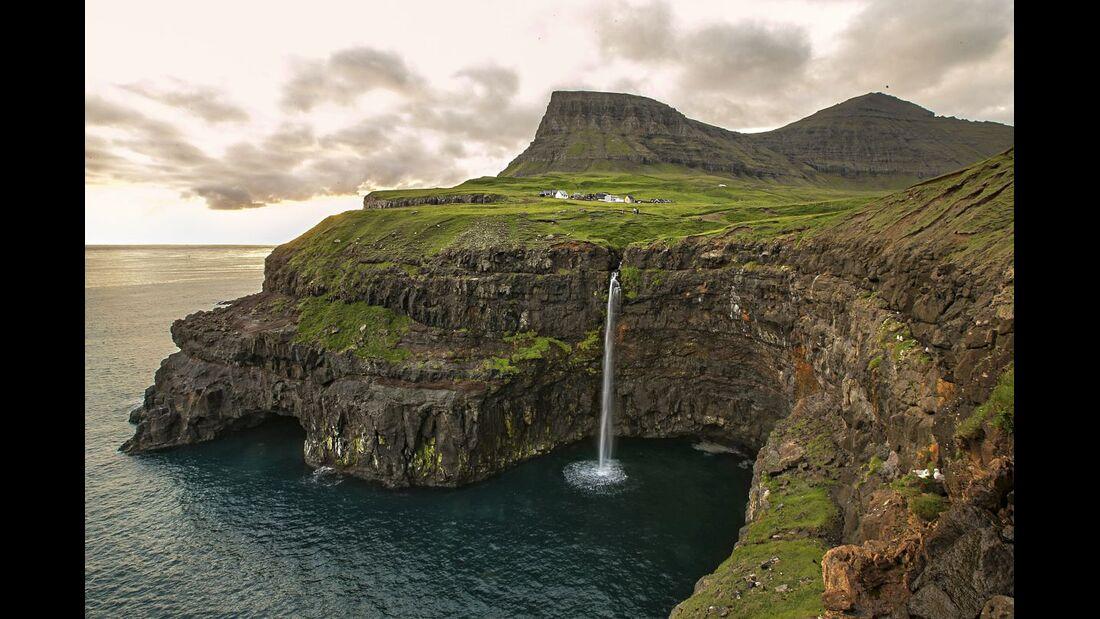 OD 1116 Färöer Inseln Wanderbilder Reiseimpressionen