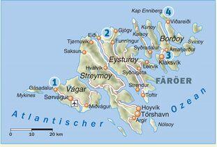 Färöer Inseln Karte.Die 4 Besten Wanderungen Auf Den Färöer Inseln Outdoor Magazin Com