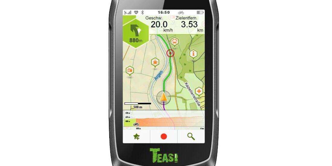 OD 1116 GPS Geräte Test Arival Teasi One³