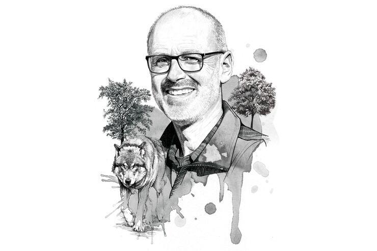 OD 1117 Interview Peter Wohlleben Anwalt des Waldes Wald Wolf Natur Bäume