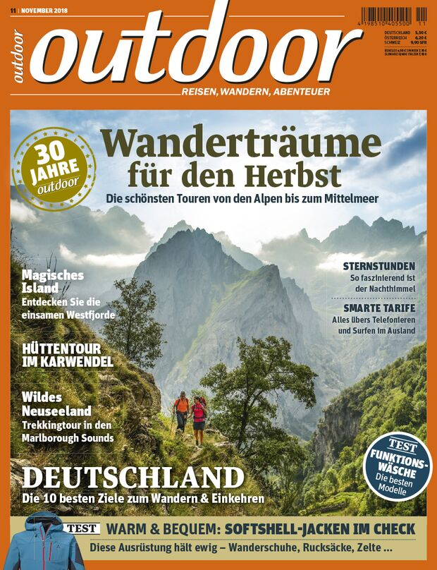 OD 1118 outdoor Heftcover Titel Jubiläumsheft