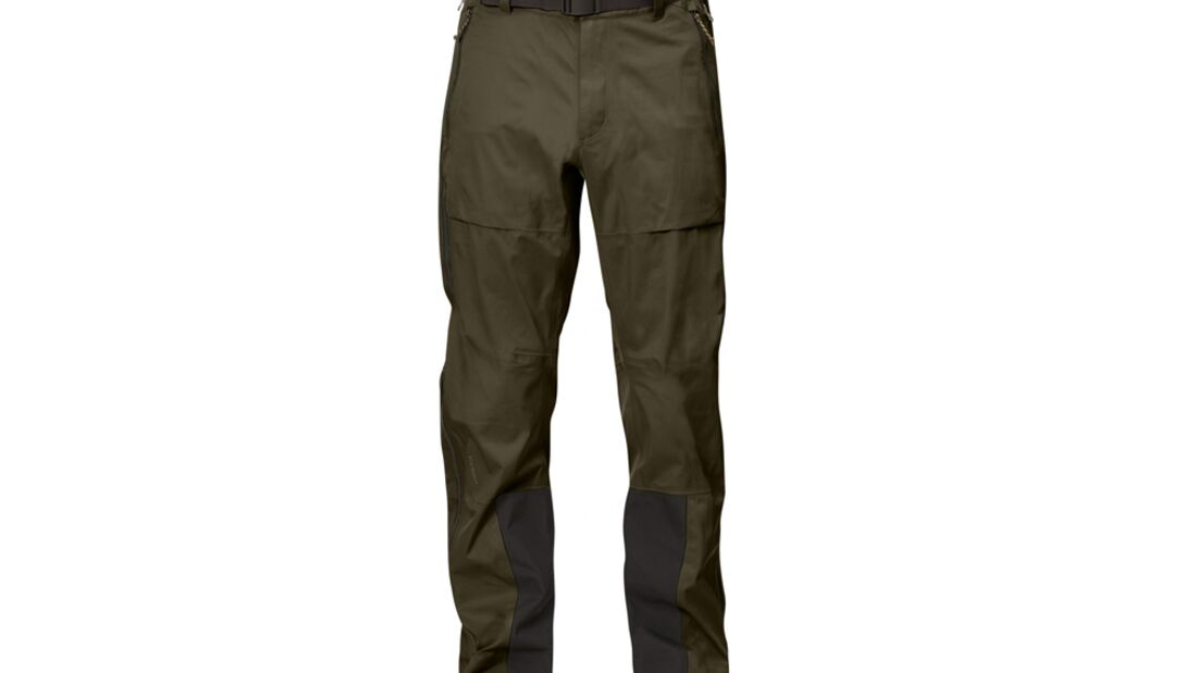 OD 1215 tested on tour Fjällräven Keb Eco-Shell Trousers