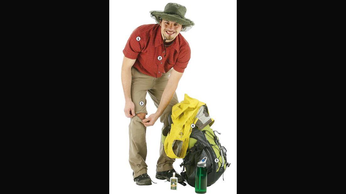 OD 2008 Outdoor-Ausrüstung Tropenwandern Bild1