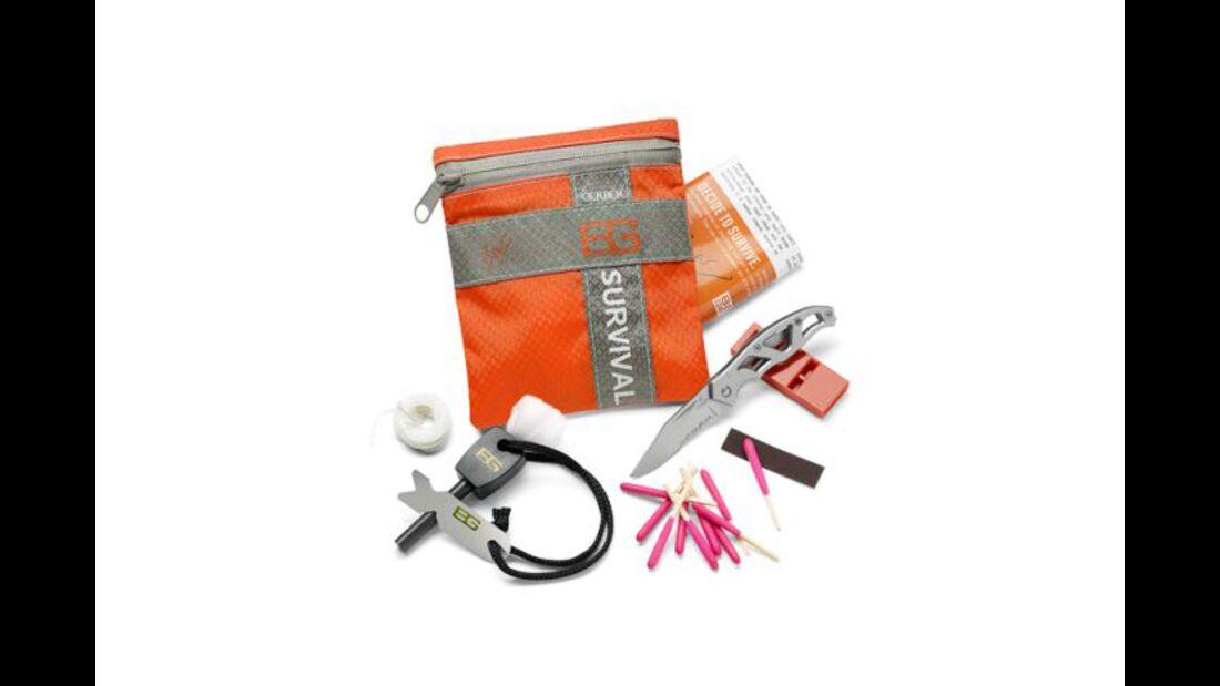 OD 2011 Equipment Gerber Bear Grylls Basic Kit Survival