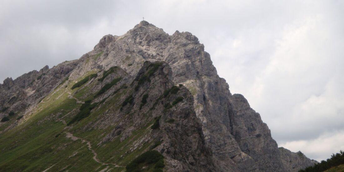 OD 2011 Gipfel Berge Allgäu Leilachspitze