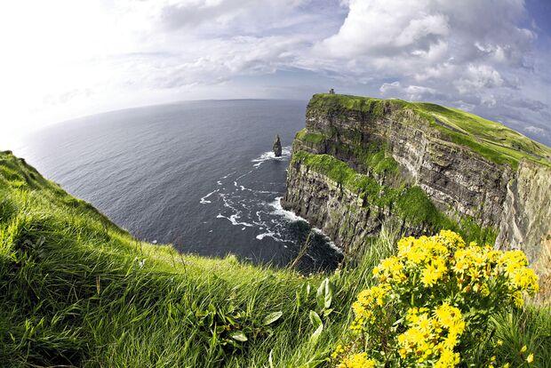 OD 2012 Irland Steilküste Wandern Cliffs of Moher