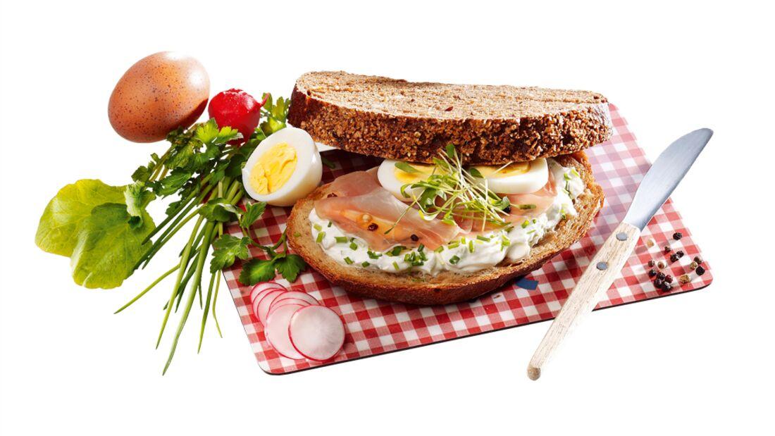OD 2012 Pausenbrot Sandwich Essen Nahrung Proviant Ei Vesper