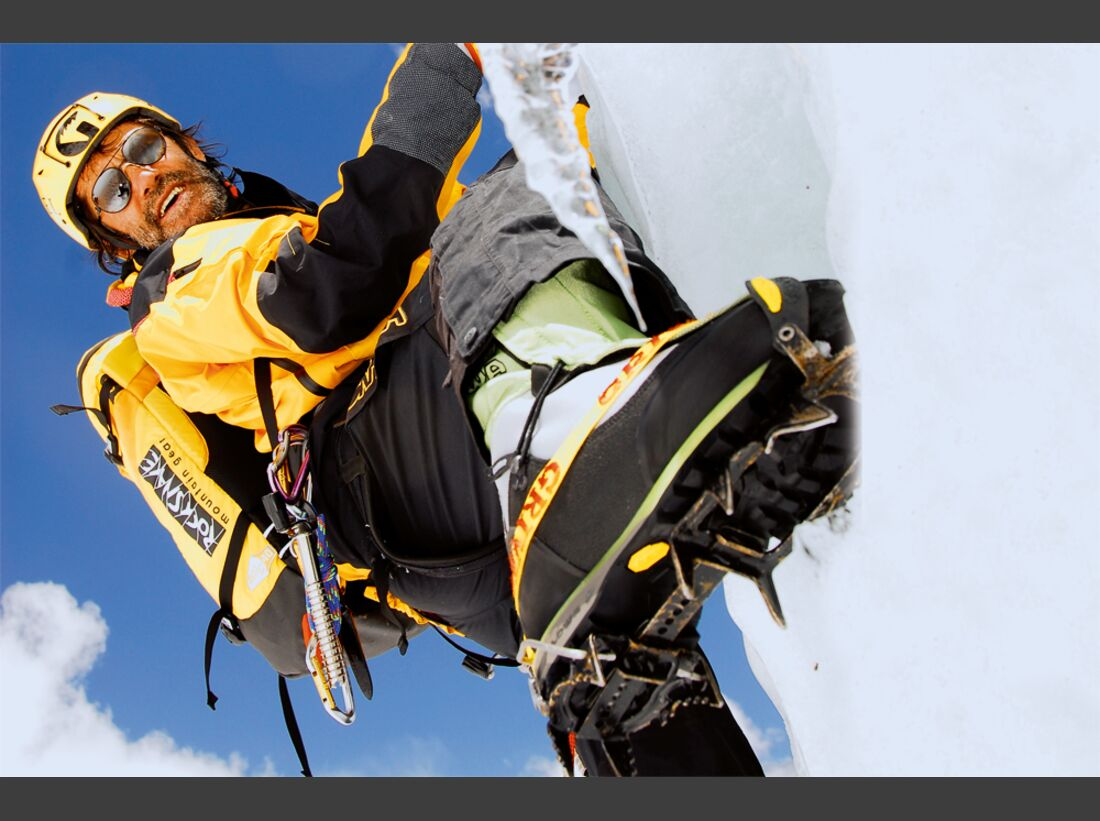OD 2013 Bergsteigen Eisklettern Hans Kammerlander Alpinist