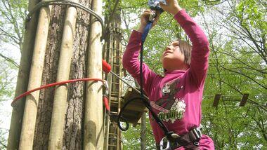 OD 2013 Familie Family Hochseilgarten Klettern Wald Abenteuer Ahrtal Bad Neuenahr-Ahrweiler