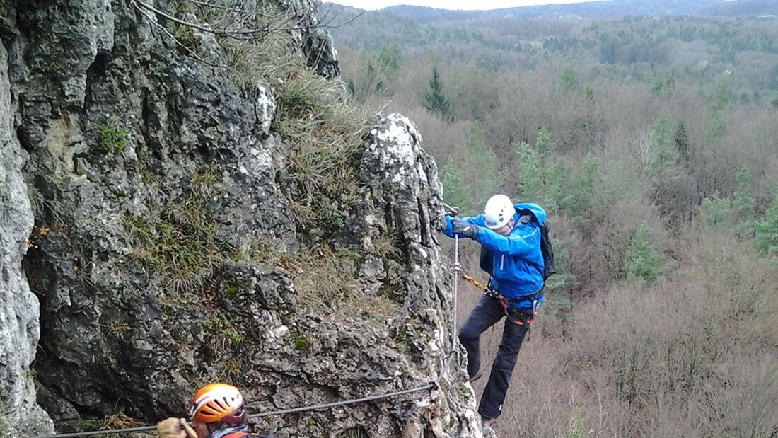 OD 2013 Gore Tex Pro Testacademy Fränkische Schweiz Klettersteig