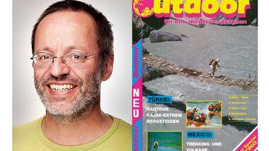 OD 2013 Jubiläum 25 Jahre outdoor - wie alles begann Till Gottbrath Titel Cover Ausgabe 1