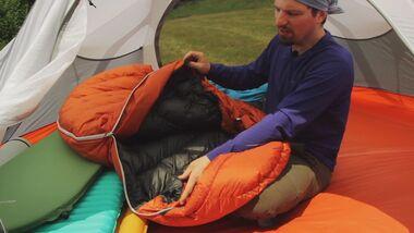 OD 2013 Kaufberatung Schlafsäcke Schlafsack Zelten Camping Biwak