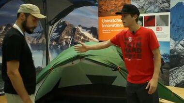 OD 2013 Outdoor-Messe Mountain Hardware Optic 2.5 3.5 Zelt
