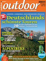OD 2014 April Heft Titel Cover outdoor