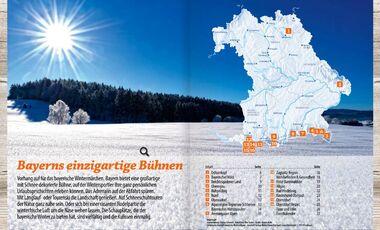 OD 2014 Bayern Naturgenuss Winter Ski Langlauf Schneeschuh Aufmacher