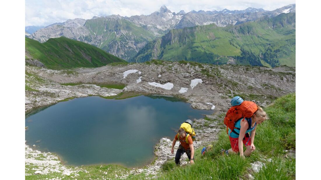 OD 2014 Bergstiefel Bergschuhe Klettersteig Test Alpen 3