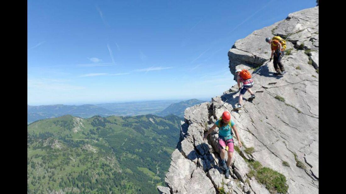OD 2014 Bergstiefel Bergschuhe Klettersteig Test Alpen 4