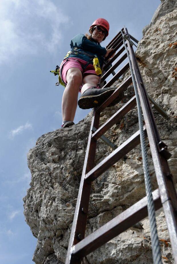 OD 2014 Bergstiefel Bergschuhe Klettersteig