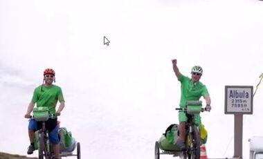 OD 2014 Bike2Boat Alpencross Kajak radfahren fahrrad