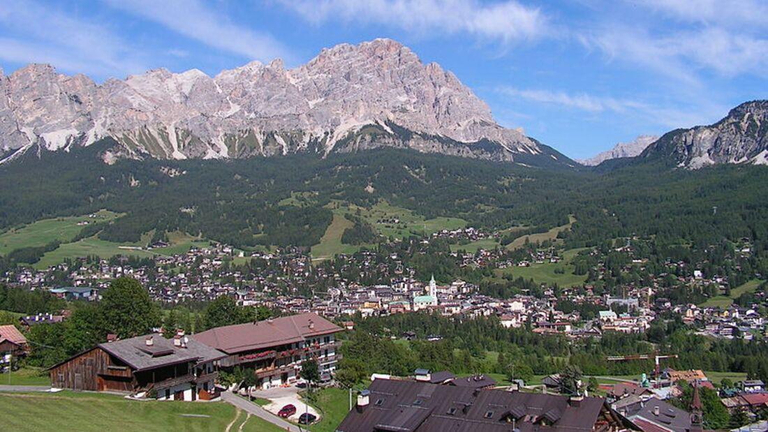 OD 2014 Dolomiten Cortina d'Ampezzo Ort