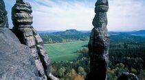 OD 2014 Fernwanderweg Malerweg Sächsische Schweiz Elbsandstein