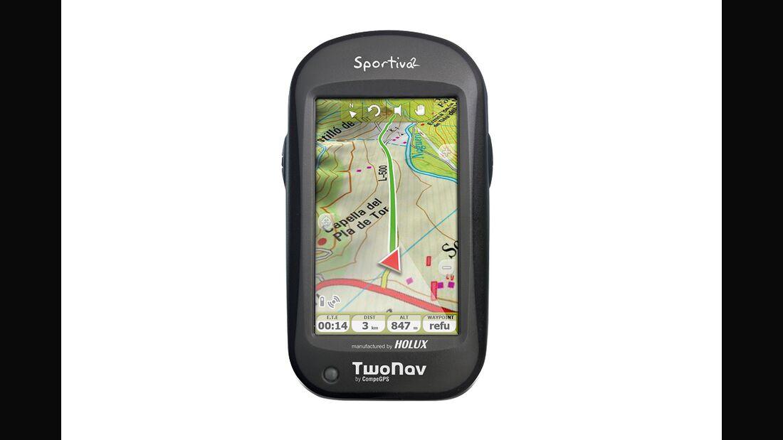 OD 2014 GPS-Test Compegs Twonav Sportiva 2