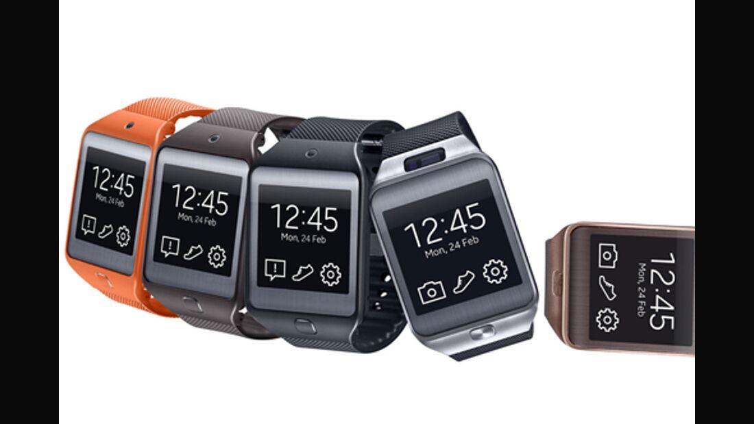 OD 2014 Samsung Smartwatch Uhr Gear 2