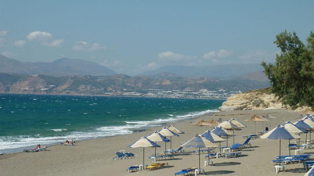 OD 2014 Strand Meer Kalamaki Kreta Griechenland
