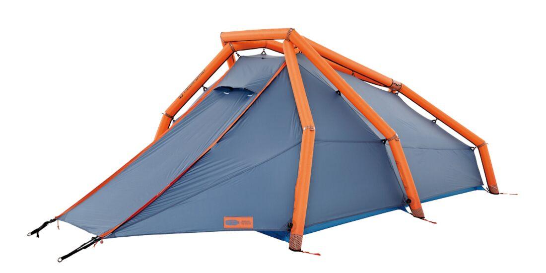 OD 2014 The Wedge Heimplanet Pumpzelt Aufblaszelt Luftpumpe Camping Test Aufmacher