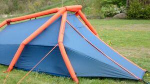 OD 2014 The Wedge Heimplanet Pumpzelt Aufblaszelt Luftpumpe Camping Test Teaser