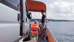 OD 2014 WaterCamper Müritz Mecklenburg-Vorpommern Berlin Wasser Hausboot Wohnmobil