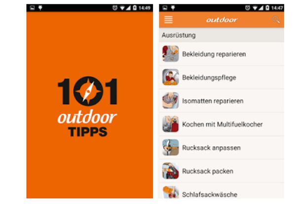 OD 2015 101-outdoor Tipps outdoor App Instructor Screenshot